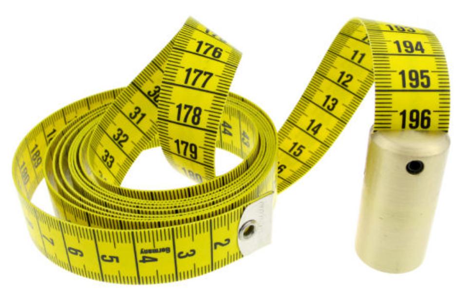 Loodcentimeter, een onmisbaar naaigerei voor meten van lengtes
