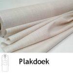 Plakdoek is geweven tussenvoering voor jassen, colberts, blazers enz.