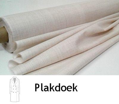 Plakdoek of manteldoek is geweven tussenvoering voor jassen, colberts, blazers enz.