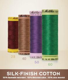 Silk finish katoenen garen - kies je kleur garen van de kleurenkaart en bestel één van de diktes