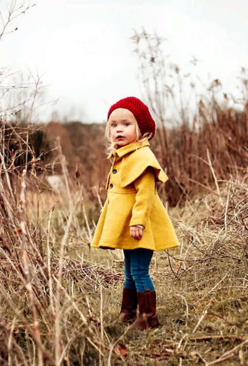 Manteltje voor een meisje met de juiste vlieseline geselecteerd met de Vlieseline keuze hulp pdf